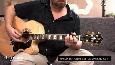 Harley Benton HB Custom Line King-CE NT