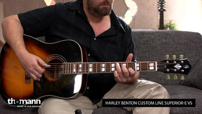 Harley Benton Custom Line Superior-E VS