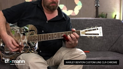 Harley Benton Custom Line CLR-Chrome