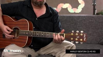 Harley Benton CG-45 NS