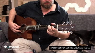 Harley Benton Custom Line CLMJ-15MCE