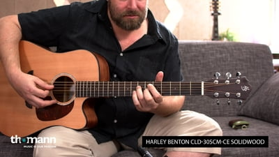 Harley Benton Custom Line CLD-30SCM-CE SolidWood