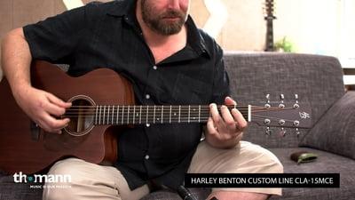 Harley Benton Custom Line CLA-15MCE