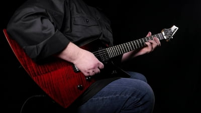 Chapman Ghost Fret Black Blood