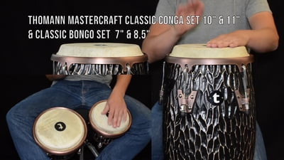 Thomann Mastercraft Classic Bongo Set