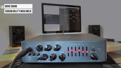 Darkglass Alpha·Omega 900 Bass Head