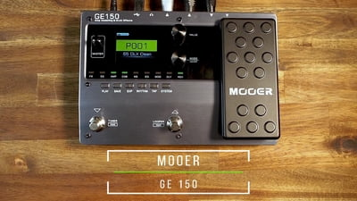 Mooer GE150 Amp Modelling & Multi Effects