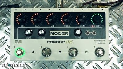 Mooer Micro Preamp Live Digital Multi Preamp Modeler