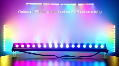 Varytec Street Bar MK3 IP65 16x3W RGB