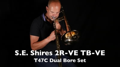 S.E. Shires 2R-VE Set Bb-/F- Tenorposaune