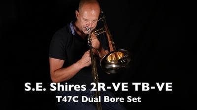S.E. Shires 2R-VE Set Bb-/F- Tenorposaune