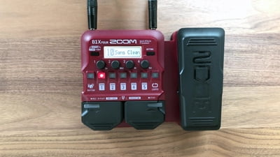Zoom B1X Four Bass Multi Effect
