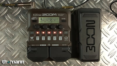 Zoom A1X Four Acoustic FX Pedal