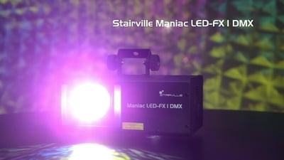 Stairville Maniac LED-FX 1 DMX