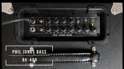 Phil Jones Bass Combo BG-400 Black
