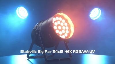 Stairville Big Par 24x12 HEX RGBAW/UV