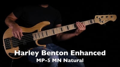 Harley Benton Enhanced MP-5MN Natural Pro Serie