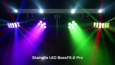 Stairville LED BossFX-2 Pro Bundle Complete
