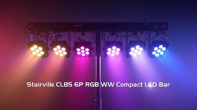 Stairville CLB5 6P RGB WW Compact LED Bar