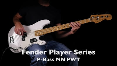 Fender Player Serie P-Bass MN PWT