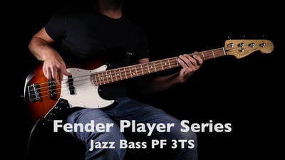 Fender Player Serie Jazz Bass PF 3TS E-Bassgitarre