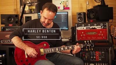 Harley Benton SC-550 Faded Tobacco