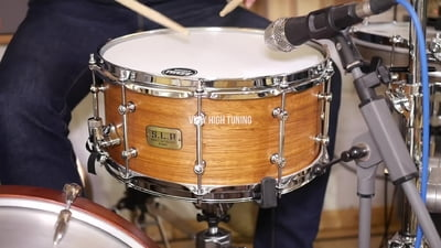 Tama 14x6,5 S.L.P. Spotted Gum Snare Drum