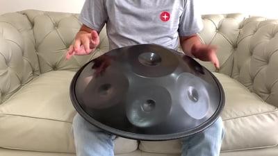 Harmonic Art Handpan Master 8 Harm Min E
