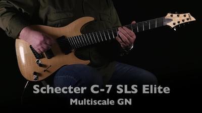 Schecter C-7 SLS Elite Multiscale GN