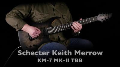 Schecter Keith Merrow KM-7 MK-III Trans Black Burst