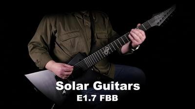 Solar Guitars E1.7 FBB