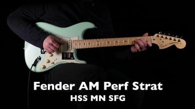 Fender American Performer Stratocaster HSS MN Satin SFG