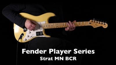 Fender Player Serie Stratocaster MN BCR