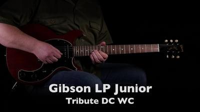 Gibson Les Paul Junior DC Worn Cherry