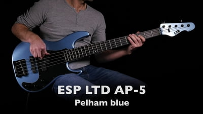 ESP LTD AP-5 Pelham Blue