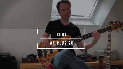 Cort A5 Plus SC Amber Open Pore