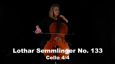 Lothar Semmlinger No. 133 Cello 4/4