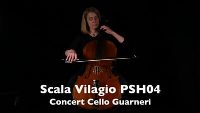 Scala Vilagio PSH04 Konzert Cello Modell Guarneri 4/4