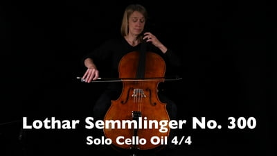 Lothar Semmlinger No. 300 Solo Cello 4/4