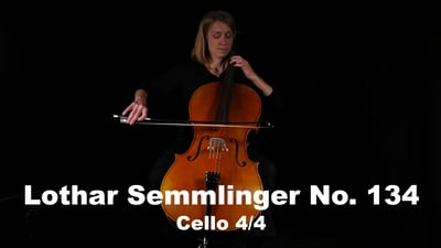Lothar Semmlinger No. 134 Cello 4/4
