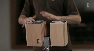 Schlagwerk Wooden Bongos WBM100