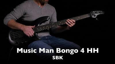 Music Man Bongo 4 HH SBK