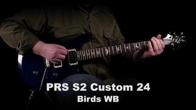 PRS S2 Custom 24 Birds WB