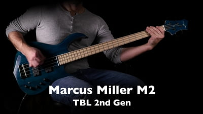 Marcus Miller M2 Transparent Blue 2nd Gen