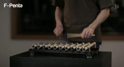 Schlagwerk Tischroehrenspiel TRS210