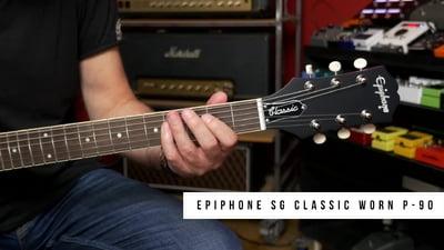 Epiphone SG Classic Worn P-90