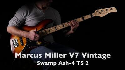 Marcus Miller V7 Vintage Swamp Ash-4 TS 2nd Gen
