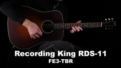 Recording King RDS-11-FE3-TBR