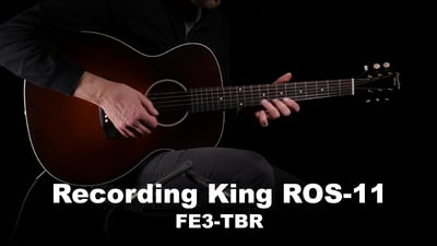 Recording King ROS-11-FE3-TBR