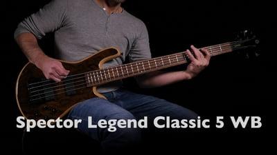 Spector Legend Classic 5 WB